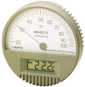 SATO Digital  Hygro-Thermometer HIGHEST II