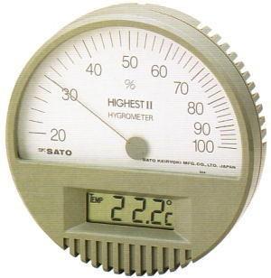 SATO Digital  Hygro-Thermometer HIGHEST II