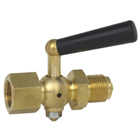 WIKA Brass Pressure Gauge Cock Female/Male 910.10