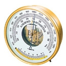 SATO Aneroid Barometer With Thermometer  No 7610-20