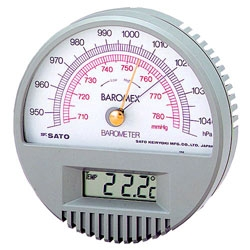 SATO Barometer With Digital Thermometer No 7610-00