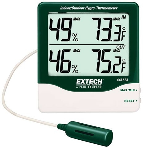 Extech Hygrothermometer 445713